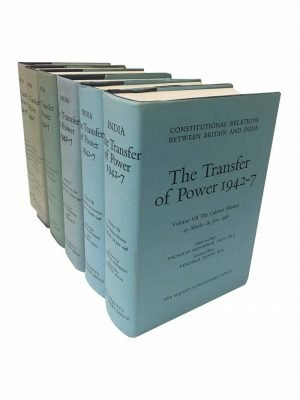 Constitutional Relations Between Britain & India. The Transfer Of Power – 12 Volume Set